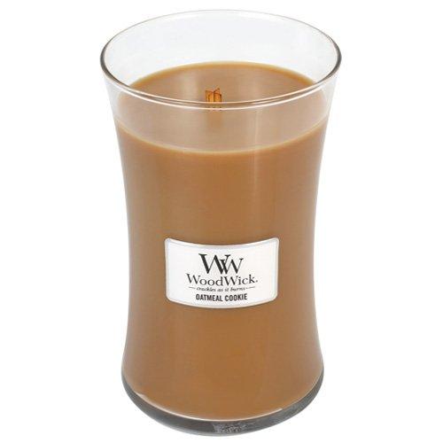 WoodWick Oatmeal Cookie Pluswick Large Hourglass Candle, 22 oz.