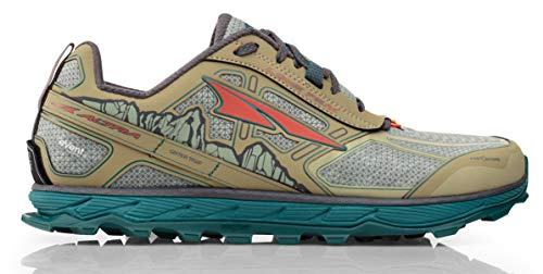 Altra Men's Lone Peak 4 Low RSM Waterproof Trail Running Shoe, Green - 9 D(M) - Trail Shoe Waterproof Running