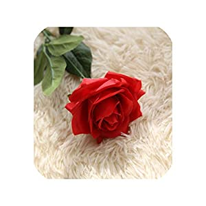 10PCS Fake Artificial Roses Bouquets Party Artificial Flowers for Wedding Decoration Flower for Wedding Home Decoration,7 20