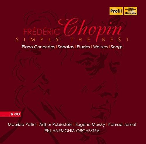 Chopin:Simply The Best [Maurizio Pollini; Arthur Rubinstein; Eugene Mursky; Konrad Jarnot; Philharmonia Orchestra ] [PROFIL: PH15012] by Maurizio Pollini