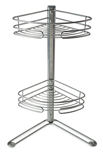 Amazing Non Rust 2 Tier Corner Free Standing Shelf Storage Shower Bath Caddy  Organiser By Blue Canyon: Amazon.co.uk: Kitchen U0026 Home