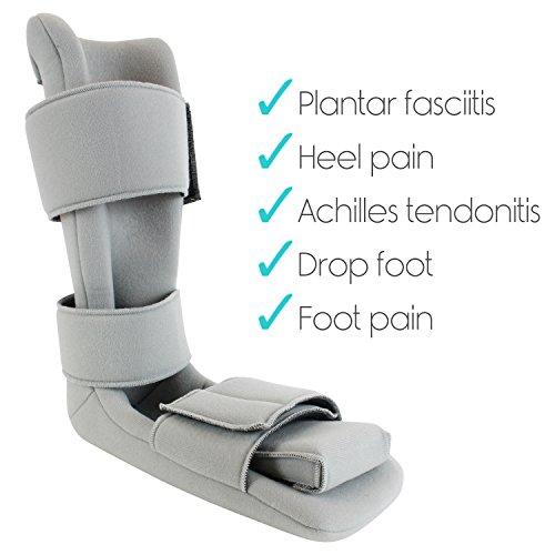 Plantar Fasciitis Night Splint Medical Brace Boot Heel