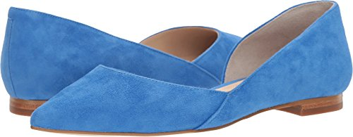 Marc Fisher Ltd Womens Sunny 5 Medium Blue Suede