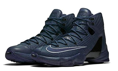 NIKE Mens Lebron XIII Elite Lmtd Basketball Shoes (13 D(M) US, Squadron Blue/Squadron Blue-Metallic Silver-Black)