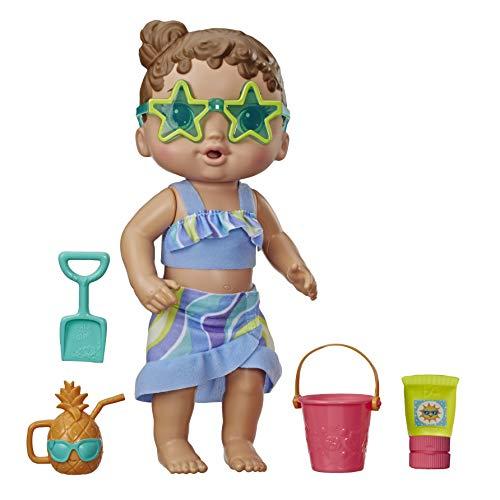 Boneca Bebe Sol e Areia - Hasbro, Baby Alive, E8718