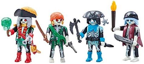 Outletdelocio. Playmobil 6591-6592. Capitan Pirata Fantasma y 3 Piratas Fantasmas. 4 Figuras.: Amazon.es: Juguetes y juegos