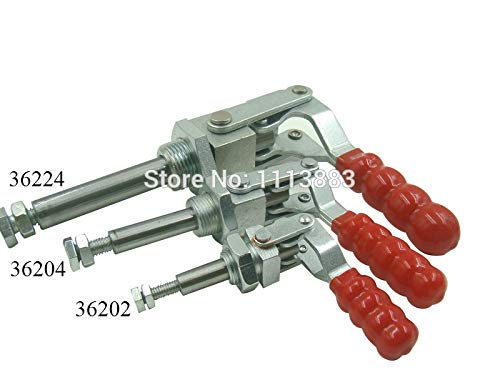 Ochoos 3PCS Push Pull Type Toggle Clamp 36204 Holding Capacity 136KG 300LBS Plunger Stroke 38mm by Ochoos (Image #4)