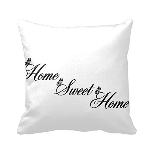 Goodaily Pillowcase Love Home Swet Pillow Cover for Sofa and Car ()