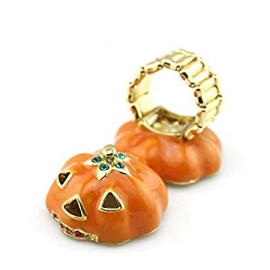 Halloween Fashion Pumpkin ring Jewelry(Automatic size)