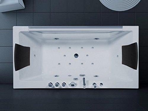 Bañera hidromasaje de baño 170 x 80 Full Optional doble Bomba cromoterapia calentador termostático: Amazon.es: Bricolaje y herramientas
