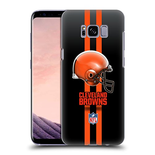 Brown Helmet Case (Official NFL Helmet Cleveland Browns Logo Hard Back Case for Samsung Galaxy S8)