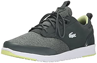 Lacoste Men's L.ight-2.0 WMP Fashion Sneaker, Dark Gray, 7.5 M US