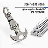 HXXF Gravity Hook Stainless Steel Grappling Hook