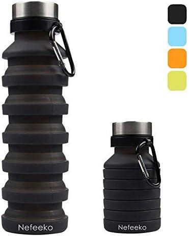 Nefeeko Collapsible Reuseable Silicone Carabiner product image