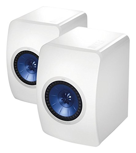 KEF LS50 Mini Monitor - Gloss White (Pair)
