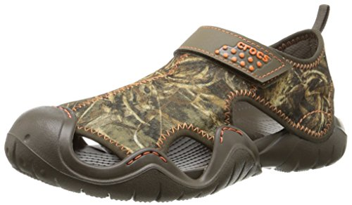 Crocs Hombre swiftwater Realtree max-5 Sandalia Chocolate/Chocolate