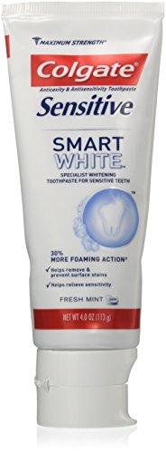 (Colgate Sensitive Smart White Toothpaste, 4)
