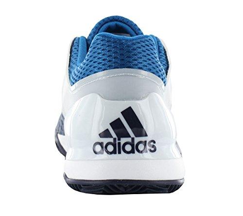 Chaussures Homme ADIDAS foncé Adizero Ubersonic Bleu Terre battue bleu Blanche wwpqHrx6