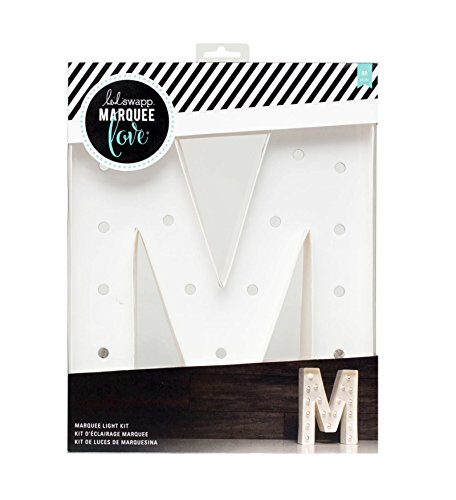 Letter A Crafts (American Crafts 312412 Heidi Swapp Marquee Love Letter M 12