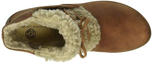 Naturalista Zelanda Bee Marrón Derby Nd17 Mujer Denia Zapatos El de para Wood Lana Cordones qxwRaXqd