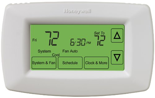 (Honeywell RTH7600D Touchscreen 7-Day Programmable Thermostat)