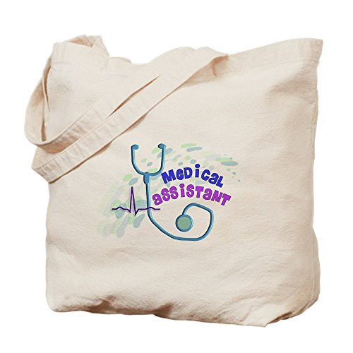 CafePress - Medical Assistant - Natural Canvas Tote Bag, Cloth Shopping Bag by CafePress