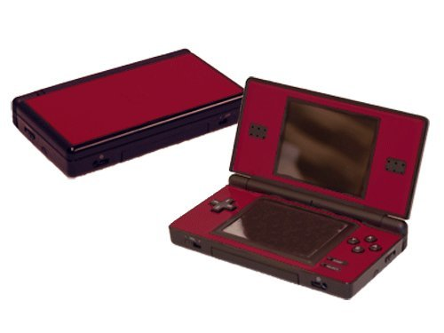 - Nintendo DS Lite Skin (DSL) - NEW - BOLD BURGUNDY system skins faceplate decal mod