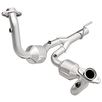 MagnaFlow 49070 Large Stainless Steel Direct Fit Catalytic Converter