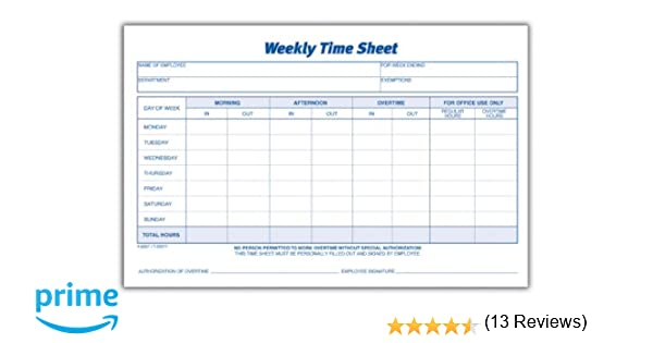 Weekly Timesheet Premium And Unable To Keep Every Small Things In