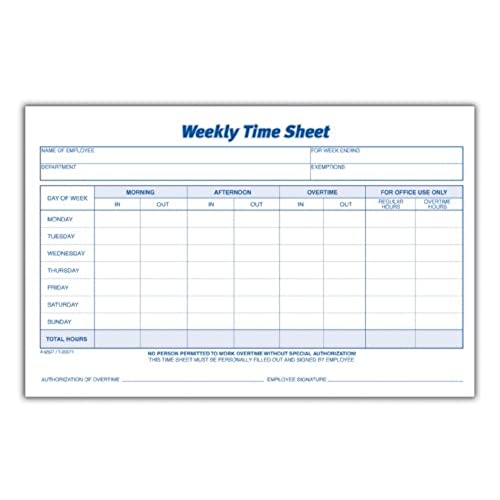 clock in timesheet