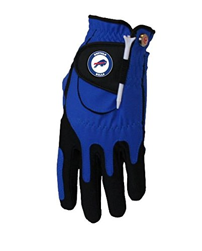 Zero Friction Men's Left Hand Universal Golf Glove - Buffalo Bills - Blue
