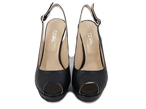 Zapatos para PERICOLI Cuero de de Mujer Vestir Osvaldo 5p8w71qx