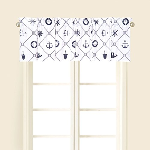 - 15.5x72 Inches, Sailor'S Bay Valance