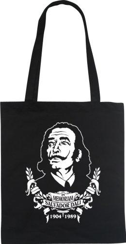 In Memoriam Salvador Dali–Fun Bolsa Tote Bag Funda de algodón wizuals Weiß