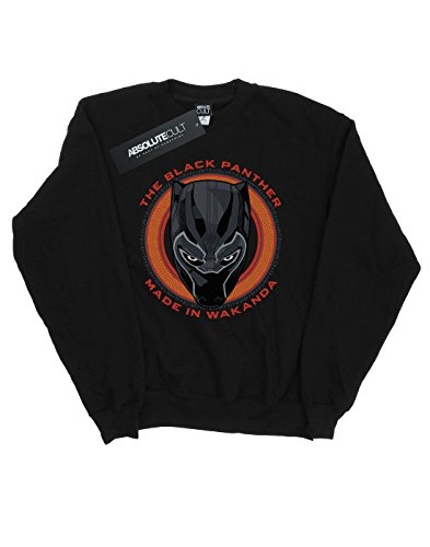 Homme Marvel Wakanda Red In Sweat Panther Black Made Noir shirt 7dBq1d