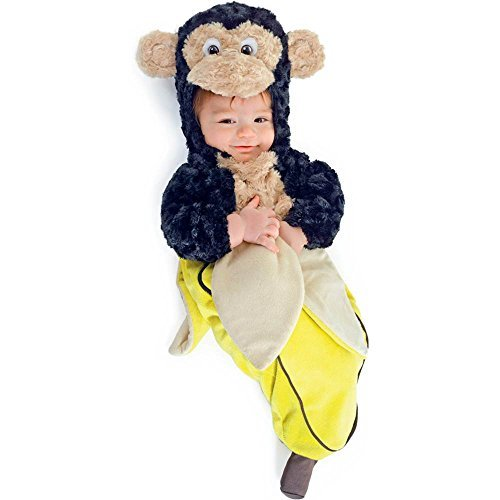 [Morris Costumes Monkey In A Banana Bunting by Unknown] (Banana Bunting Costumes)