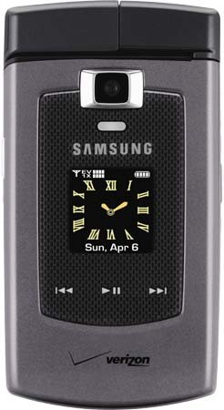 (Samsung_Alias_u740 (Titanium) with Qwerty Keyboard, 2.0 Megapixel- Camera, - Bluetooth Capable - 1XEVDO CDMA 2000 for Verizon Network (No Contract Required_A P E X GLOBAL WIRELESS))
