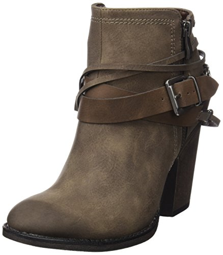 MTNG Collection 51590, Botas Cortas Mujer Marrón (SUED TAUPE)