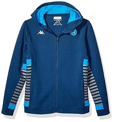 SSC Napoli Italian Serie A Men's Sweatshirt Woman 2019/21, Blue, XL