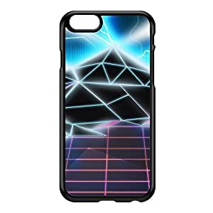 80s video game Black Hard Plastic Case for iPhone 6 by Nick Greenaway + FREE Crystal Clear Screen Protector