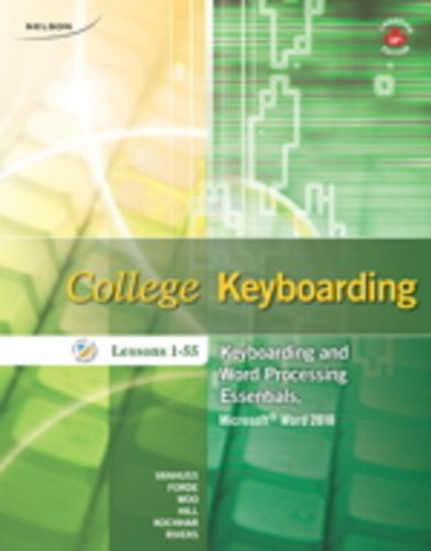 College Keyboarding: Lessons 1-55