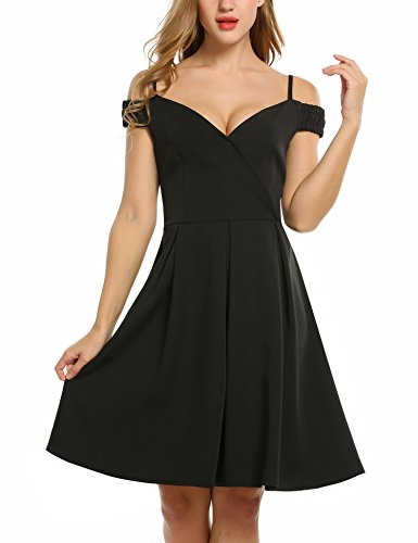 ACEVOG-Women-Vintage-Elegant-High-Waist-Pleated-Dress