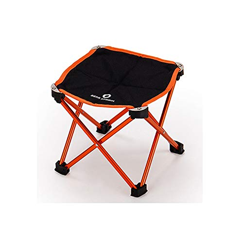 Aluminium Alloy Table Chair Portable Folding DIY Desk Camping Hiking Traveling Outdoor Chairs,22.5X22.5X21Cm1]()