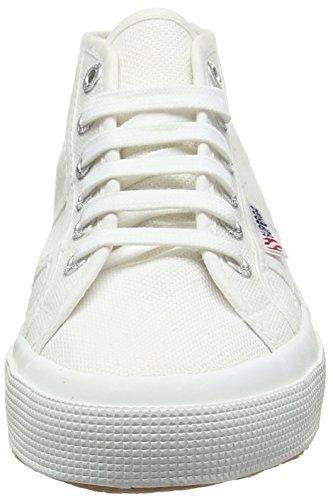 Superga 2754JCOT Classic, Zapatillas Altas Unisex, para ni&Ntildeos Blanco - White (901 White)