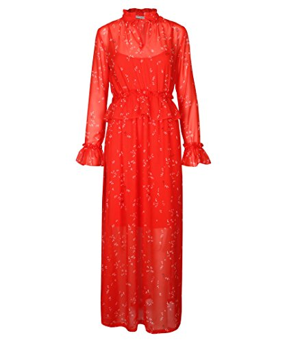 Kleid rot 74