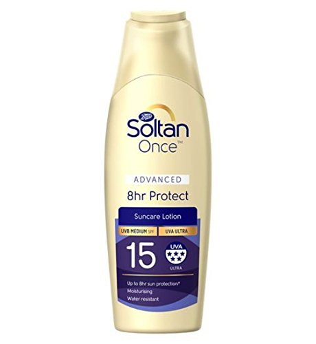 Soltan Once Advanced 8hr Protect Lotion SPF15 200ml