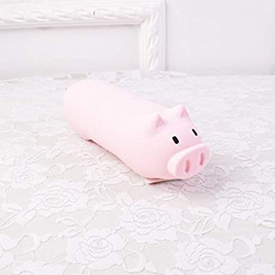 1 estuche de silicona con forma de cerdo para guardar ...