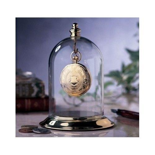 Generic O-8-O-3538-O orage B Heirloom Jewelry ewelry Dome Keepsake Heirlo Pocket Watch Display ome Kee Storage Brass Case ay Box Box Glass NV_1008003538-TYQFUS32