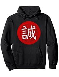 Kanji for Truth in Japanese Makoto Hoodie
