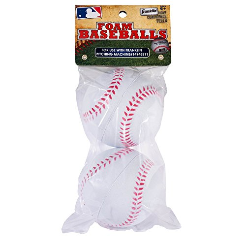 Pitcher Pitching Machine - Franklin Sports MLB Replacement Foam Balls 2 pk No. 14941